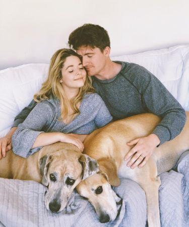 Sasha Pieterse and her husband