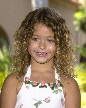 Young Child Model Sasha Pieterse