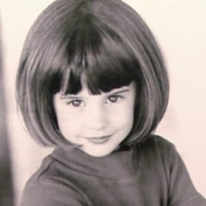Shailene Woodley at the young age.