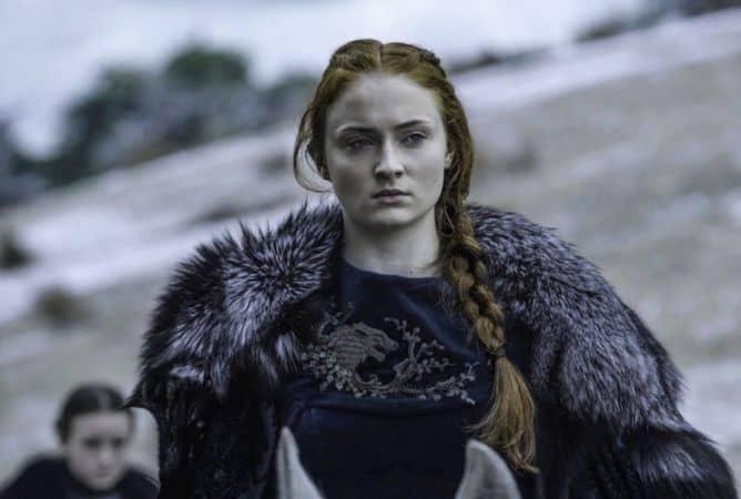 Sophie Turner as Sansa Stark in GOT