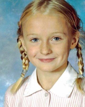 Sophie Turner during her childhood