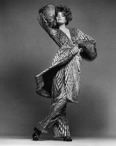 Super Model Rene Russo Posing
