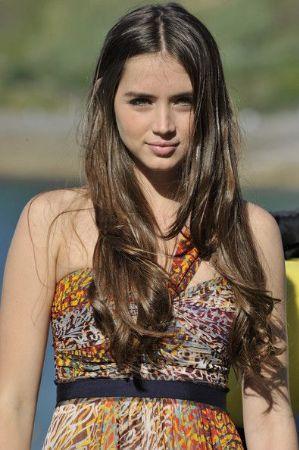 Young and Beautiful Actress Ana de Armas
