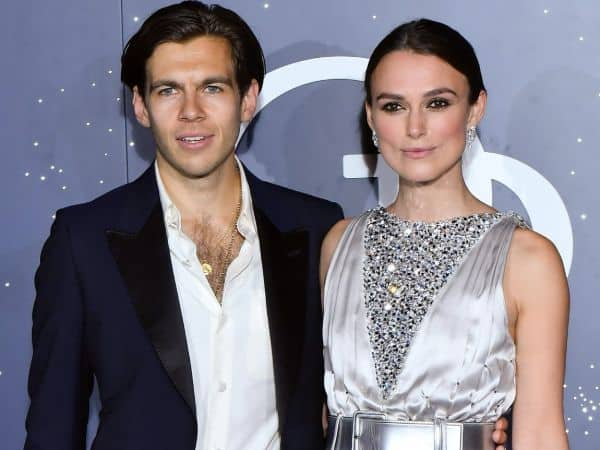 Keira with her Husband