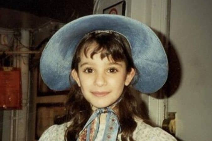 Cute little Lea Michele During her Childhood
