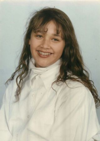 Cute little Rashida Jones during early age