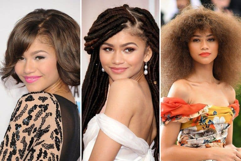 The style evolution of Zendaya.